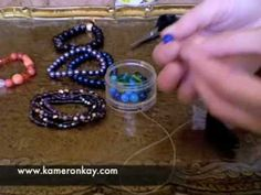 How to make stretch beaded bracelets