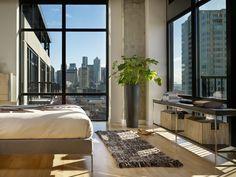 Modern Loft Design Ideas | Modern Urban Green Loft Design – Mosler Lofts