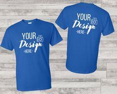 Shirt Template, T Shirt Image, Blank T Shirts, Shirt Mockup, Royal Blue, Mens Fashion, T Shirts For Women, Things To Sell, Unisex
