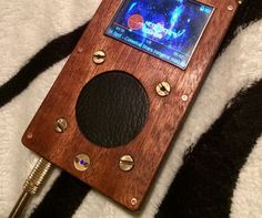 Steampunk case for my FiiO X1 mp3 player
