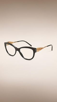 9559cd8581a1 Gabardine Collection Cat-eye Optical Frames