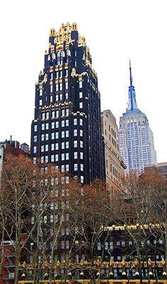Daytonian in Manhattan: Breaking Ground in Black and Gold -- American Radiator Building