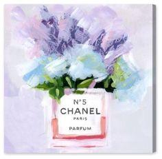 chanel, canvas art, wall art, frame art