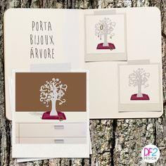 DESIGN DE PRODUTO: o Porta Bijoux Árvore é lindo e super prático para guardar suas bijoux. Projeto: DF2 DESIGN. Quer comprar o seu? Acesse www.lojageguton.com