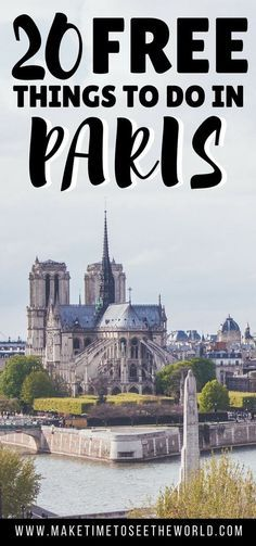 Paris can be expensive - but it doesn't have to be! Click to find out the Top 20 Free Things To Do in Paris and give your wallet a break on your next visit to the City of Light ******************************************************************************