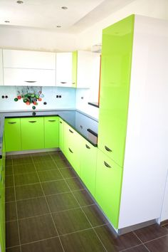 Sweet Home, Kitchen Cabinets, Interior, Home Decor, Green, Decoration Home, House Beautiful, Indoor, Room Decor