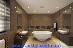 Remodel your Bathroom with granite, quartz, recycled glass and mosaic tiles.