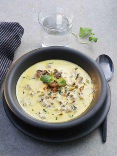 Om du vill så kan du byta ut hönsbuljongen mot grönsaksbuljong och vips så har du en vegetarisk, välsmakande soppa! Innehåller 222kcal.