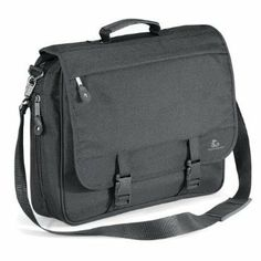 b225b42683b5 Allround Aktentasche QUADRA Messenger Bag Schultergurt in Graphit Grau