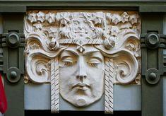 Art Nouveau, Facciat