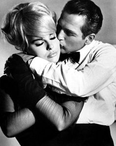 Elke Sommer and Paul Newman in 'The Prize', 1963