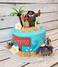 Moana Birthday Party Theme, Moana Themed Party, 4th Birthday Cakes, Moana Party, Moana Theme Cake, Moana Birthday Cakes, Moana Cake Ideas, Birthday Ideas, Mohana Cake