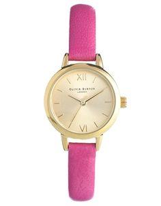 Enlarge Olivia Burton Hot Pink Mini Dial Watch