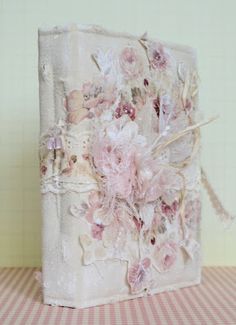 .This is a handmade journal. So pretty and special.