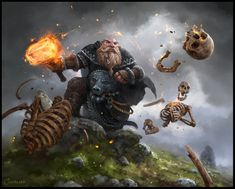 Master Dwarf, Alexander Kozachenko on ArtStation at https://www.artstation.com/artwork/XaRv0
