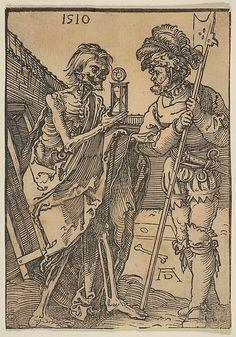 Death and the soldier, Albrecht Dürer