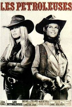 Claudia Cardinale, pictured here with Brigette Bardot, appeared in some of the most prominent European films of the 1960s and 1970s. She's political liberal, supports feminist and gay rights, has frequently stated her pride in her Tunisian background, and has been a UNESCO goodwill ambassador for the Defense of Women's Rights and World Water Day, seeking to make sustainability an integral part of mainstream culture. The film that made her famous in US: Once Upon a Time in the West.