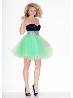 Ball Gown Sweetheart Short / Mini Sequins Homecoming Dresses / Cocktail Dresses 1106036