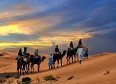 Trzeba jeździć na wielbłądzie na Saharze tylko raz w życiu.  To jest zupełnie wyjątkowy.