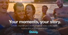 Slidely - Create, share and discover visual moments in beautiful and creative ways. Use our slideshow, video and collage maker to turn your photos and videos into stunning collections.