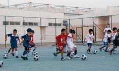 Qatar Football Association (QFA) and Qatar Shell officially launched Il Ab We Yana, an extra-curricular school programme based on the FutbolNet methodology