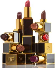 Lipsticks from Tom Ford's beauty line. Photo: Tony Cenicola/The New York Times
