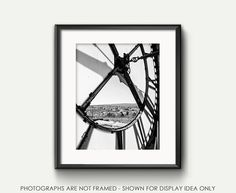 Black and White Photography Clock by JillianAudreyDesigns on Etsy