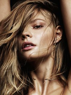 Magdalena Frackowiak Stuns In Shimmery Makeup & Statement Jewelry (Le Fashion) - Editorials - Editorial Hair, Jewelry Editorial, Beauty Editorial, Editorial Fashion, Magdalena Frackowiak, Beauty Photography, Editorial Photography, Fashion Photography, Amazing Photography