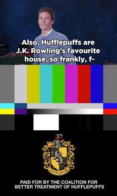 Eddie Redmayne Made A Pro-Hufflepuff PSA Because Hufflepuffs Are Badass