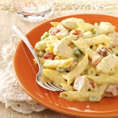 Chicken and Sausage Penne..I think I might use Andouille sausage instead of Polish sausage