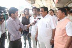 """औंखा - एरनाकुलम रेल में सुरत रेलवे स्टेशन से """"नमाे चाय पे चर्चा"""" का सफल आयोजन.."""