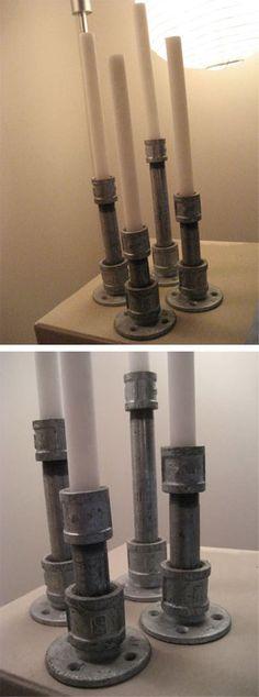 mifl | diy candle holder