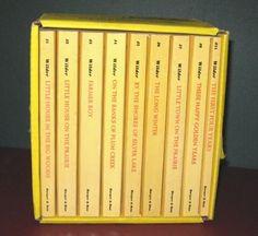 Set of Laura Ingalls Wilder's Little House on the Prairie Books