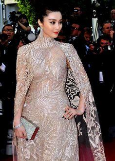 Fan Bingbing, Elie Saab, Cannes 2012