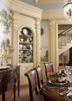 Design Inspiration Of Interior,room,and Kitchen: French Country Dining Room  Design Ideas