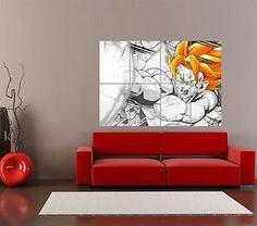 Amazoncom Vegeta  Goku Dragon Ball Z Cartoon Anime Decor Wall - Dragon ball z wall decals
