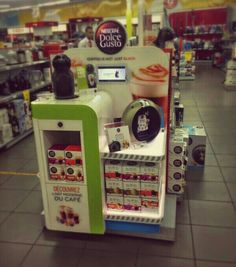 POS DolceGusto - Display - luminant - Visual Retail Merchandising Group / VRMG