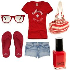 This a cute outfit ! im going to get a(n) Outfit lik this ! Cute Outfits With Shorts, Cute Summer Outfits, Cool Outfits, Casual Outfits, Cute Fashion, Teen Fashion, Fashion Outfits, Womens Fashion, Hollister Clothes
