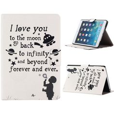 Ikevan case for iPad Mini 1 2 3 Retina - New Premium Flip Leather Case Skin Cover for ipad mini Retina (Beyond Love Forever) Ever And Ever, Leather Case, Leather Wallet, Pu Leather, Ipad Stand, To Infinity And Beyond, Ipad Mini, Ipad Case, Cards Against Humanity
