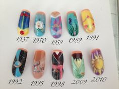 Next time i go to the nail salon, im getting the Rapunzel one (the last one)