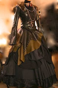 steampunk couture in the style of wonderful