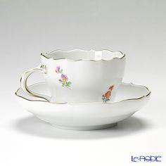 マイセン(Meissen) ビンテージフラワー2 04c002/00582コーヒーカップ&ソーサー 200cc ヒルガオ
