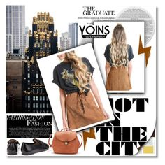 """""""YOINS"""" by janee-oss ❤ liked on Polyvore featuring moda, Michael Kors, MustHave, fall2015 ve yoins"""