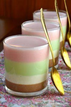 Сметанка радуга десерт знакомый с детства, простой рецепт с пошаговыми фотографиями