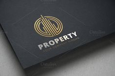 Property Logo Templates **Logo Template Features **---- 100 Scalable Vector Files- Everything is editable- Everything i by Super Pig Shop Logo Branding, Branding Design, Logos, Rtl Logo, Web Design, Graphic Design, Property Logo, Building Logo, Real Estate Logo Design