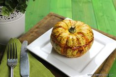 Sausage stuffed mini Pumpkin | Will the Foodie