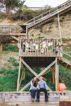 Be Minked   Outdoorsy Mission Beach Washington Engagement   http://beminked.com