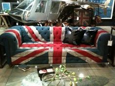 British couch for my future British room. Yup I am dreaming.