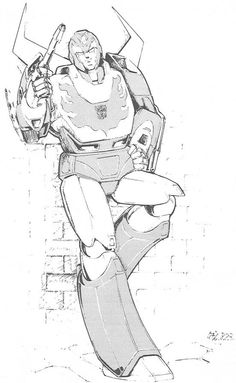 hot rod transformers manga