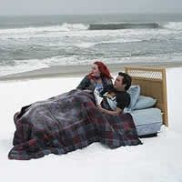 The Eternal Sunshine of the Spotless Mind - Joel Barish (Jim Carrey) e Clementine (Kate Winslet)